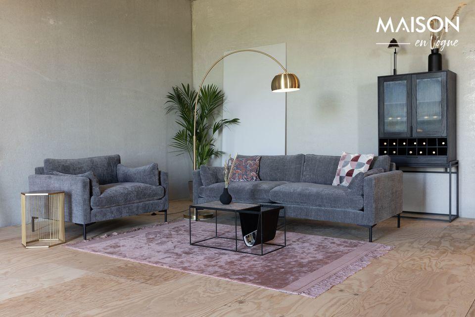 Voor een modern comfort, een bank die in alle decors welkom is
