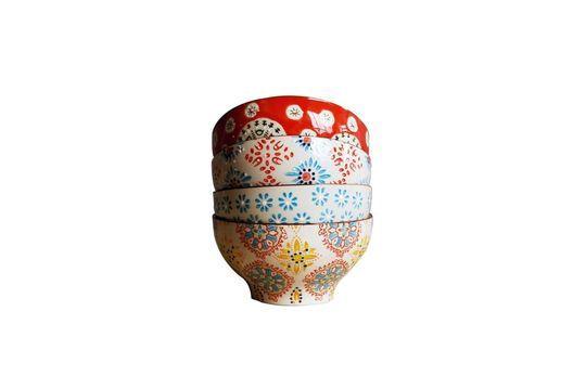 4 Boheemse keramische kommen Productfoto