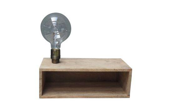 Arsy wandlamp en plank in hout