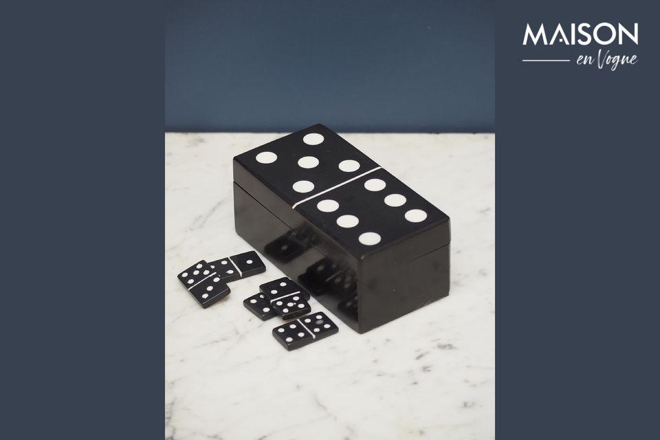 Black Payns Dominoes Box Chehoma