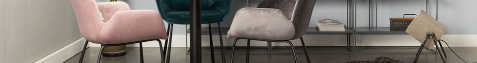 Benadrukte materialen Brits fauteuil donkergrijs