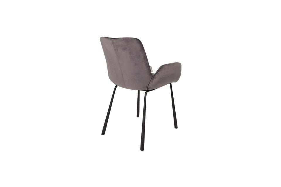 Brits fauteuil donkergrijs - 8