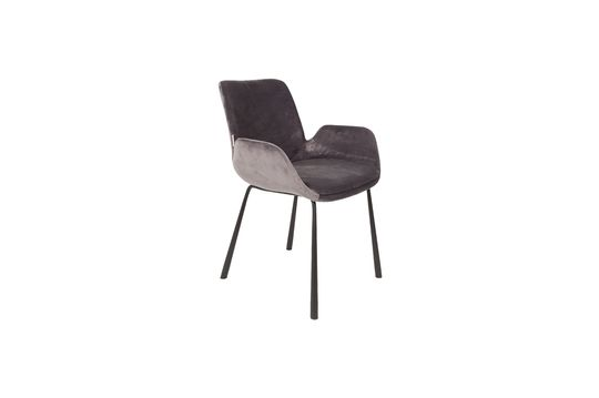 Brits fauteuil donkergrijs