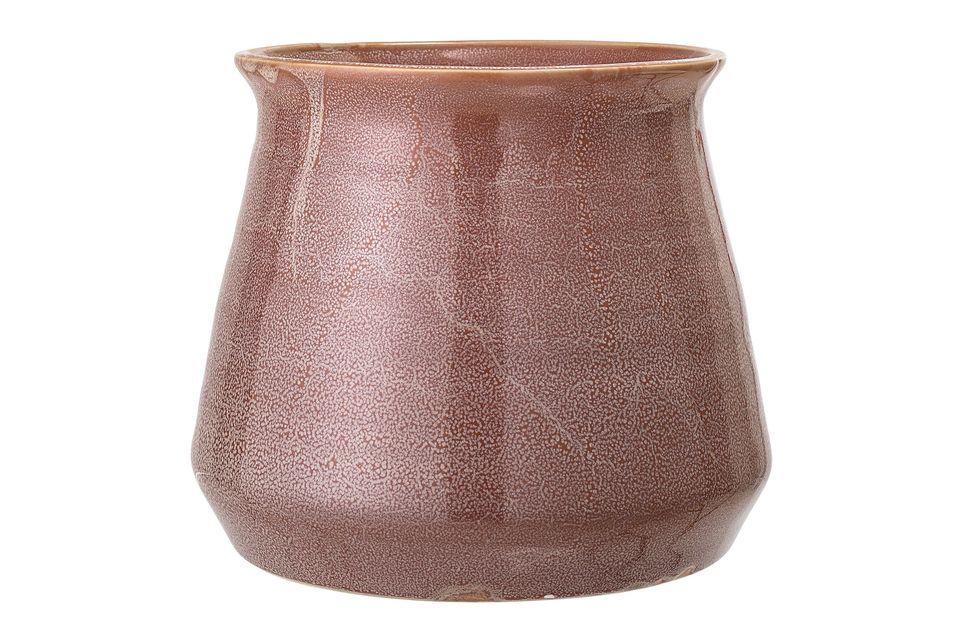 Bruin steengoed Haucourt-potje Bloomingville