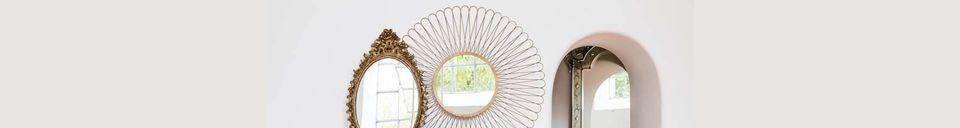 Benadrukte materialen Convexe spiegel Ormenans