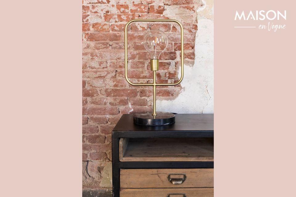 Een verfijnde lamp met een modern design