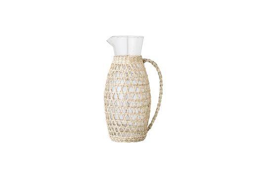 Daphne kruik in transparant glas