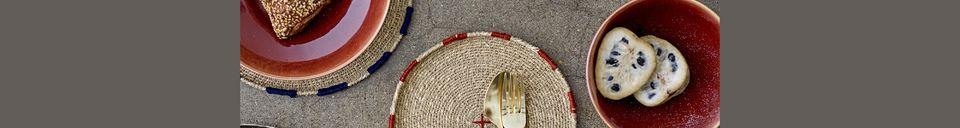 Benadrukte materialen Decoratieve plaat Eloie