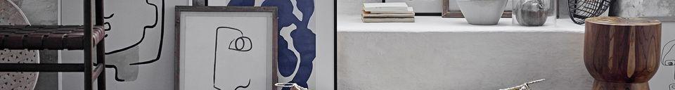 Benadrukte materialen Dennenhout Bourdic frame