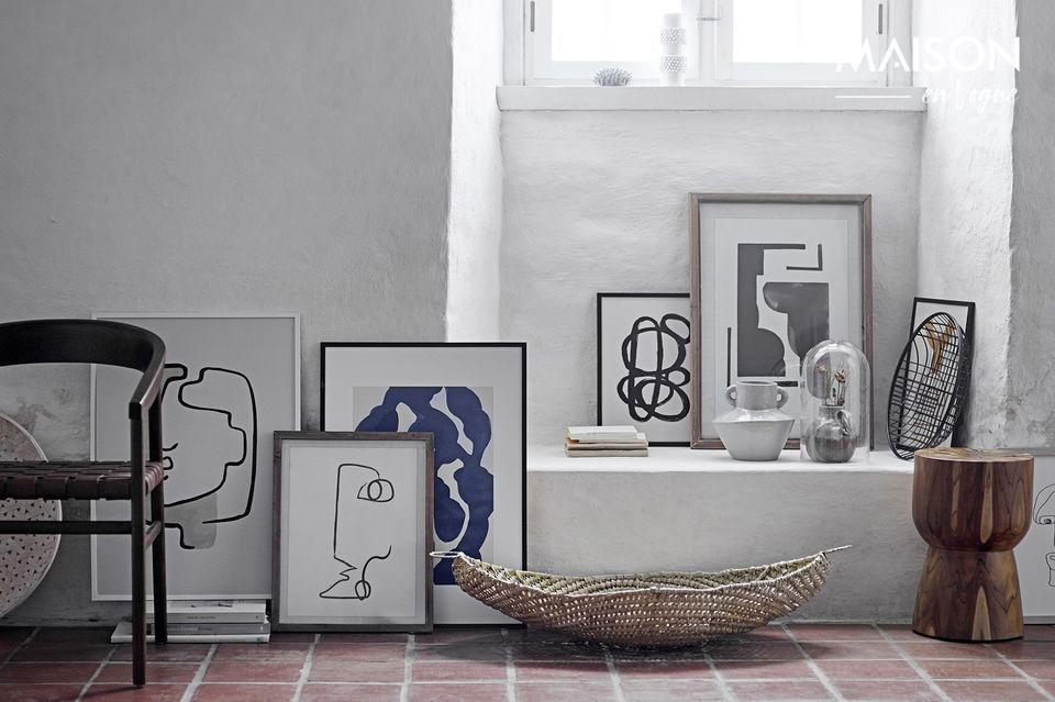 Een ontwerp en een verfijnd decor voor uw interieur