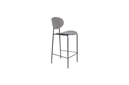 Donny Grey Counter Stool Productfoto
