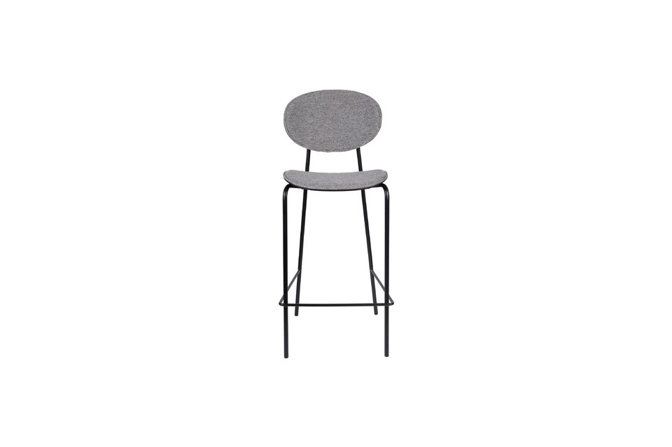 Donny Grey Counter Stool - 7