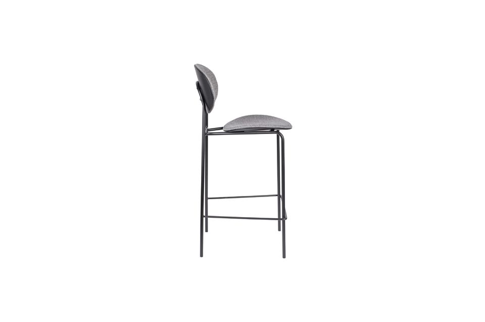 Donny Grey Counter Stool - 8