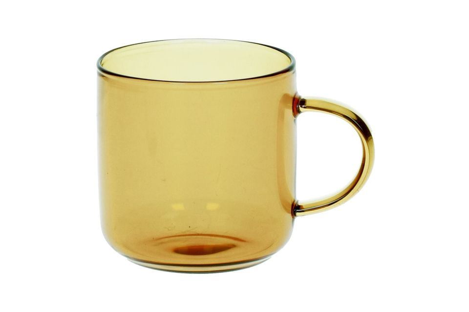 Doos 4 Kopjes Espresso Lasi geel Pomax