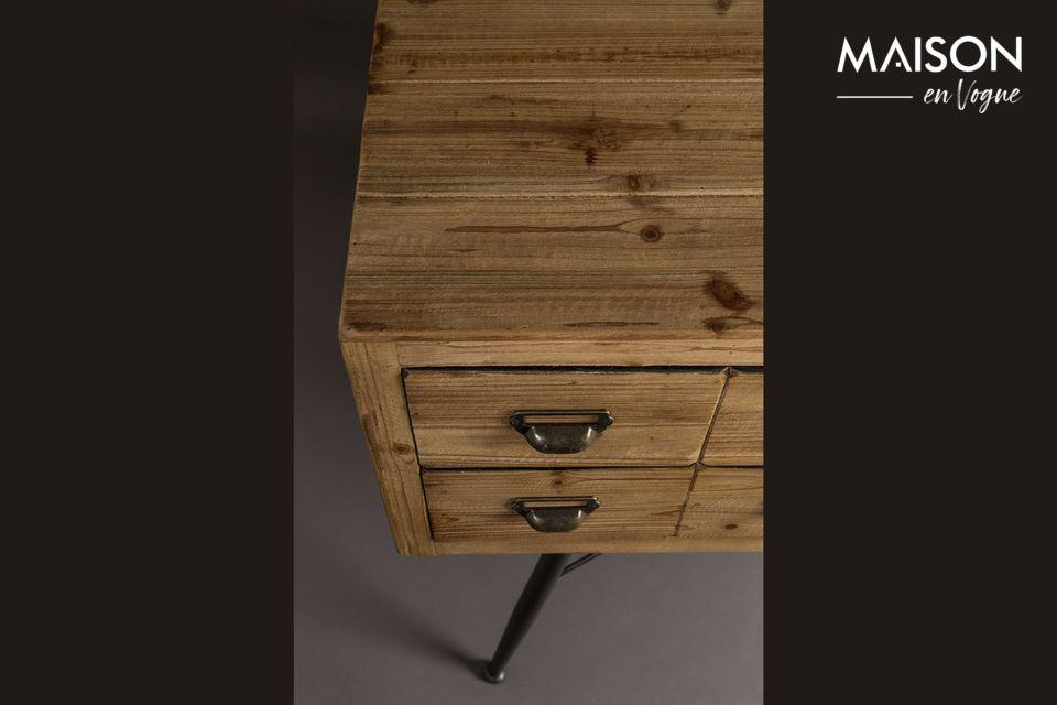 Dressoir Zes met houten laden - 7