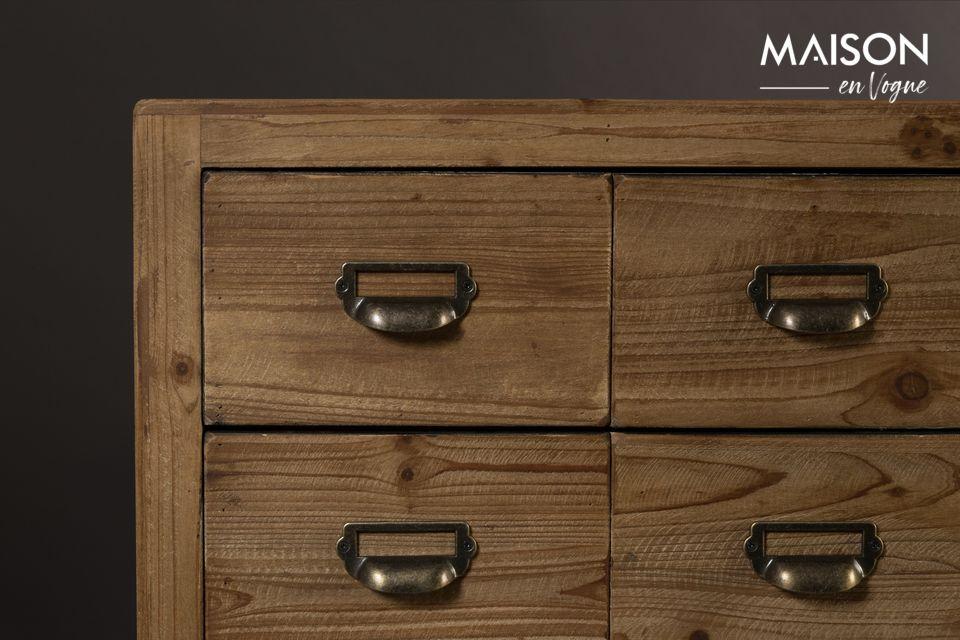 Dressoir Zes met houten laden - 9