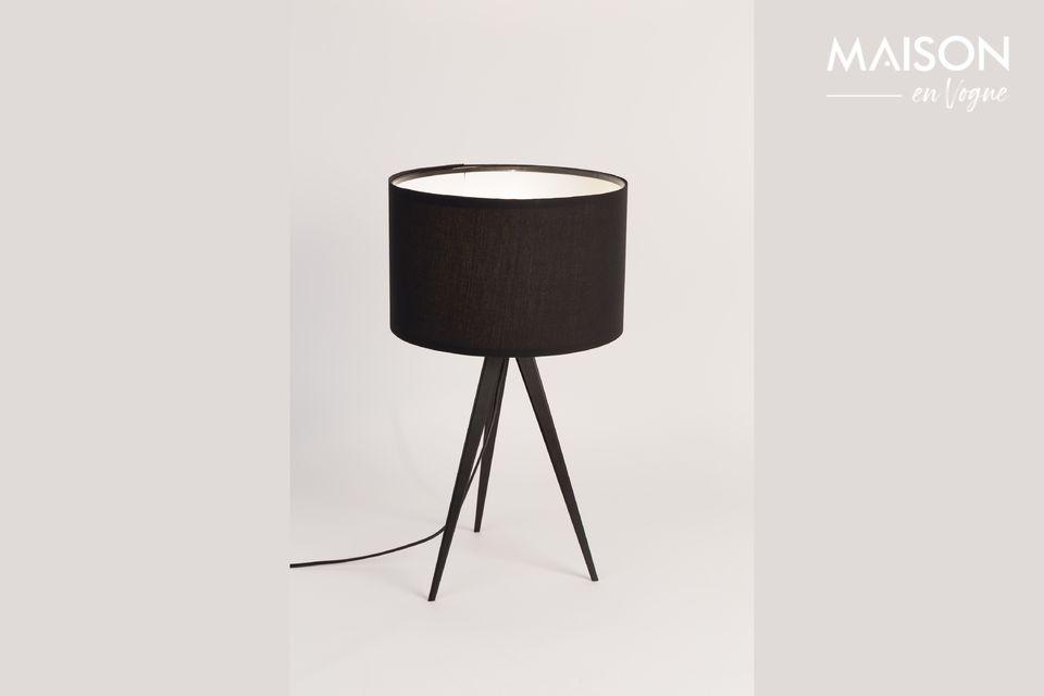 Driepoot tafellamp zwart - 4