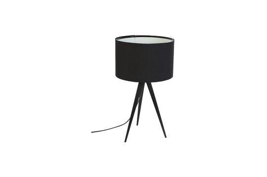 Driepoot tafellamp zwart Productfoto
