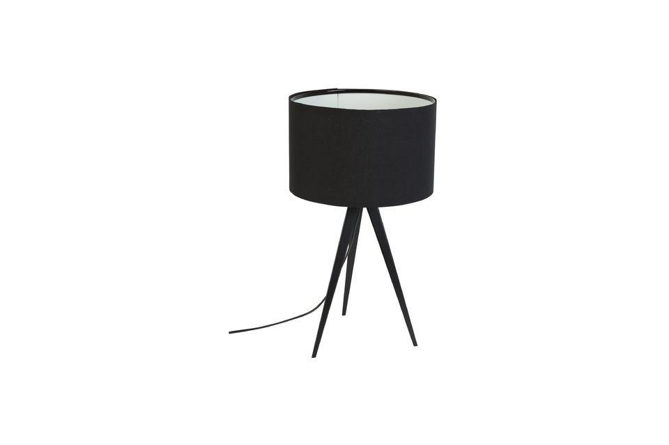 Driepoot tafellamp zwart - 5