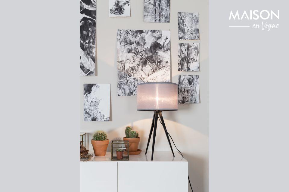 Een klein tafellampje met Scandinavische charme