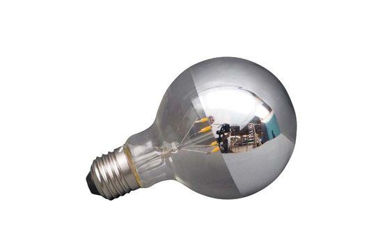 E27 LED Zilverkleurige Lamp