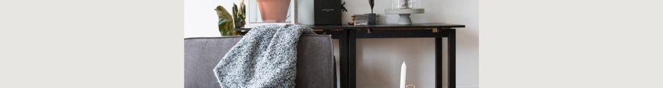 Benadrukte materialen Element van Sofa James Ridge Rib