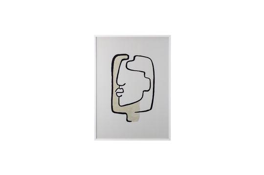 Ester wit grenen frame Productfoto