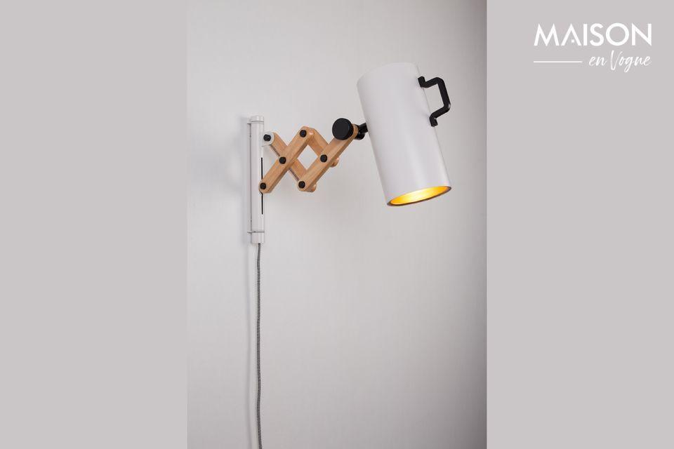 Flex wandlamp wit - 8