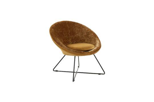 Fluwelen Garbo-fauteuil