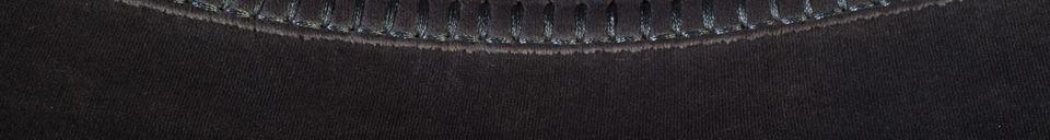 Benadrukte materialen Franky grijze fluwelen stoel