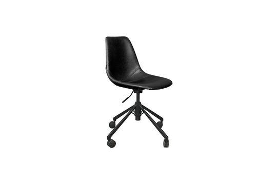 Franky zwarte bureaustoel