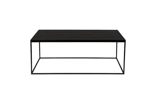 Geglazuurde zwarte koffietafel Productfoto