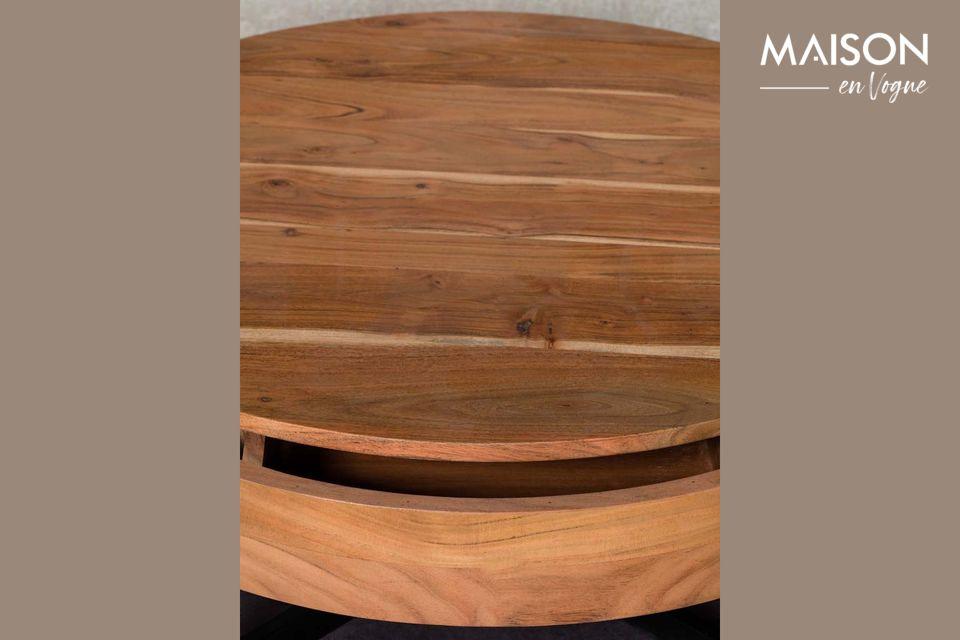 De ronde salontafel Castin de Chehoma, stelt u voor om te kiezen voor de eenvoud van pure lijnen