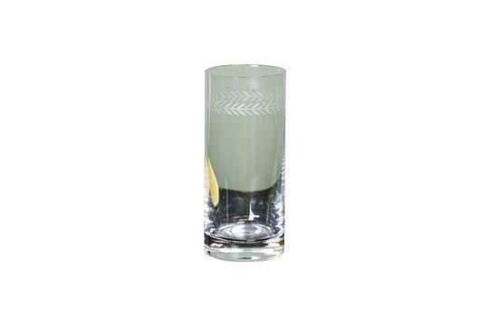 Gegraveerd Laurier longdrink glas