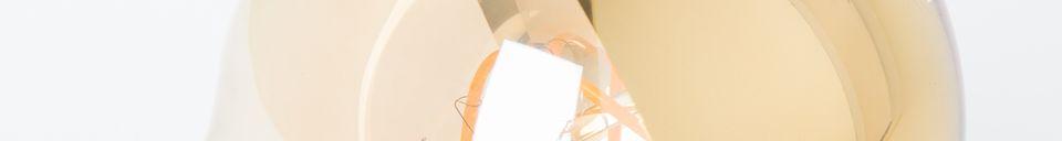 Benadrukte materialen Gouden spiegelbolbol