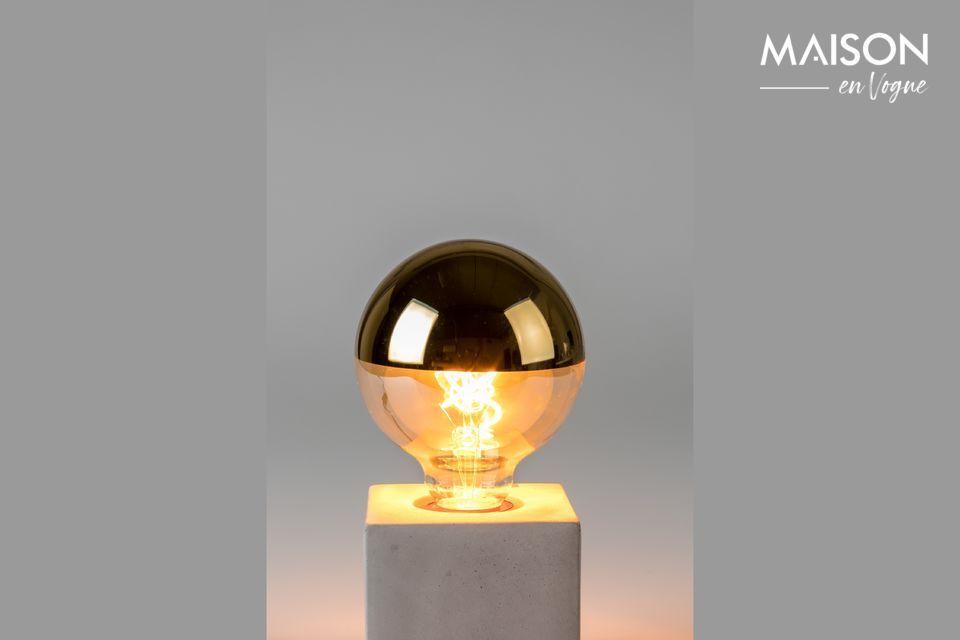 Gouden spiegelbolbol White Label
