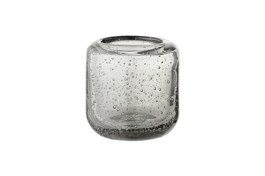 Grijze Luzillat glazen lantaarn voor votiefkaarsen