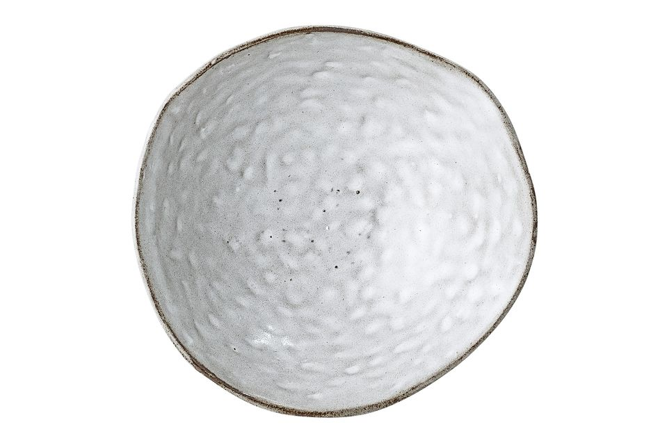 Deze grijze schaal is zeer origineel dankzij de volledig asymmetrische rand
