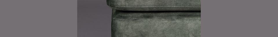 Benadrukte materialen Houda voetsteun boskleur