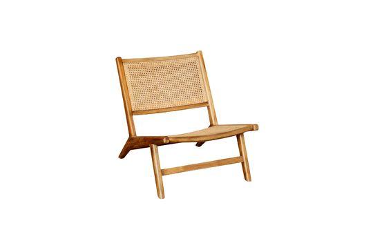 Husson-fauteuil met vlechtwerk zitting en rugleuning