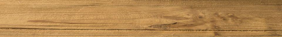 Benadrukte materialen IJzeren plank