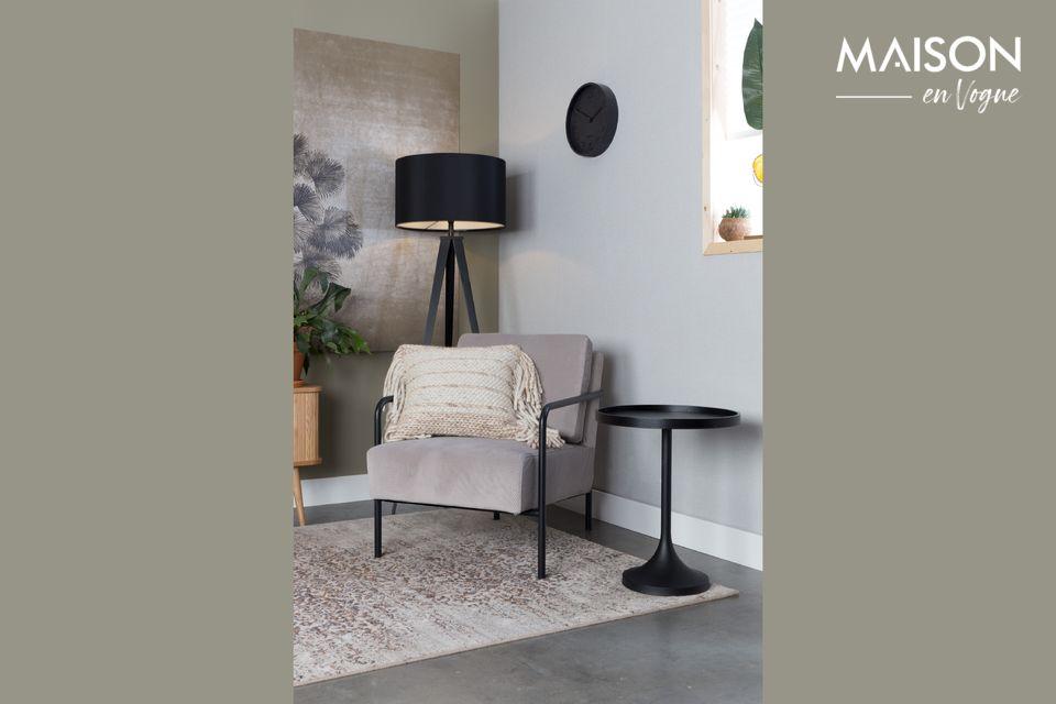 Een praktische tafel met een eenvoudig maar dynamisch ontwerp