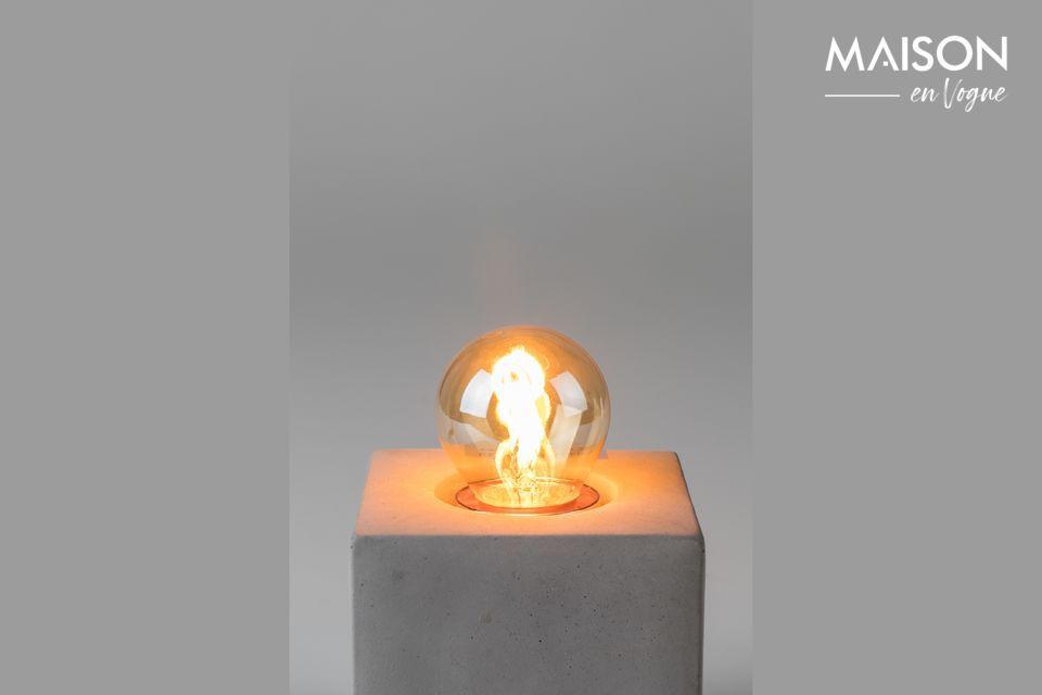 Klassieke gouden minilamp White Label