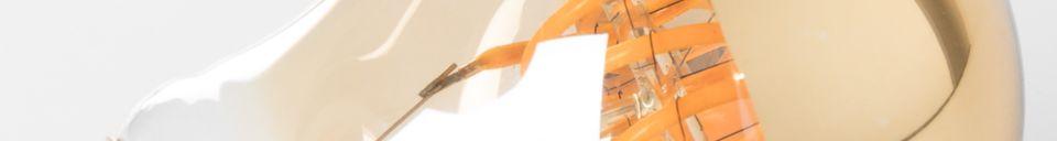 Benadrukte materialen Klassieke Gouden Spiegelbol