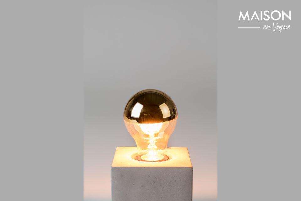 Klassieke Gouden Spiegelbol White Label