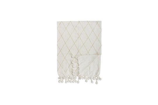 Laval Cotton Throw White Productfoto