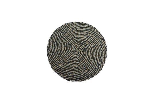 Laveyron spiraalvormige placemat in natuurlijke zeeslag