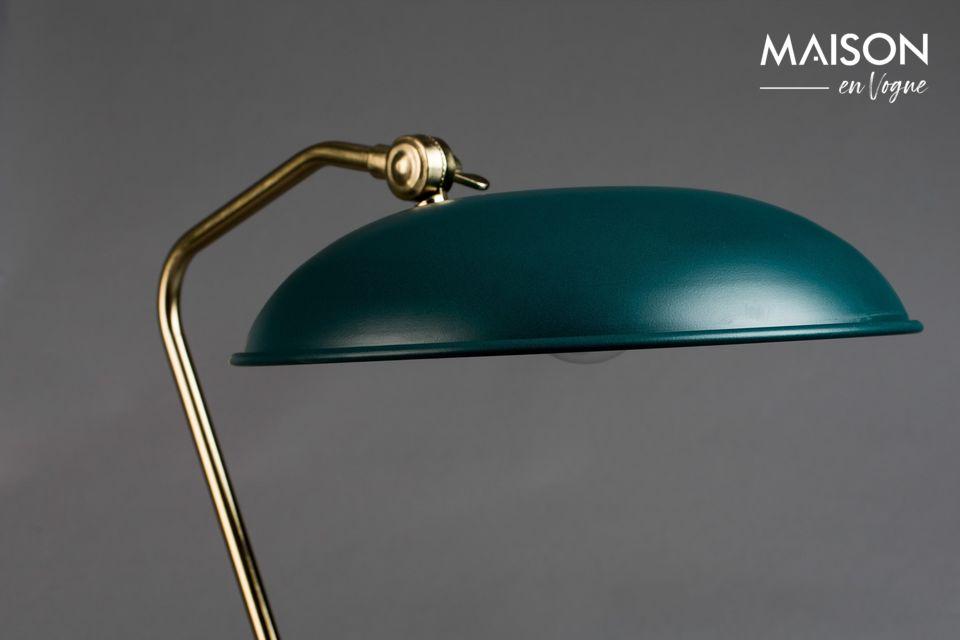 Liam eend blauw bureaulamp - 3