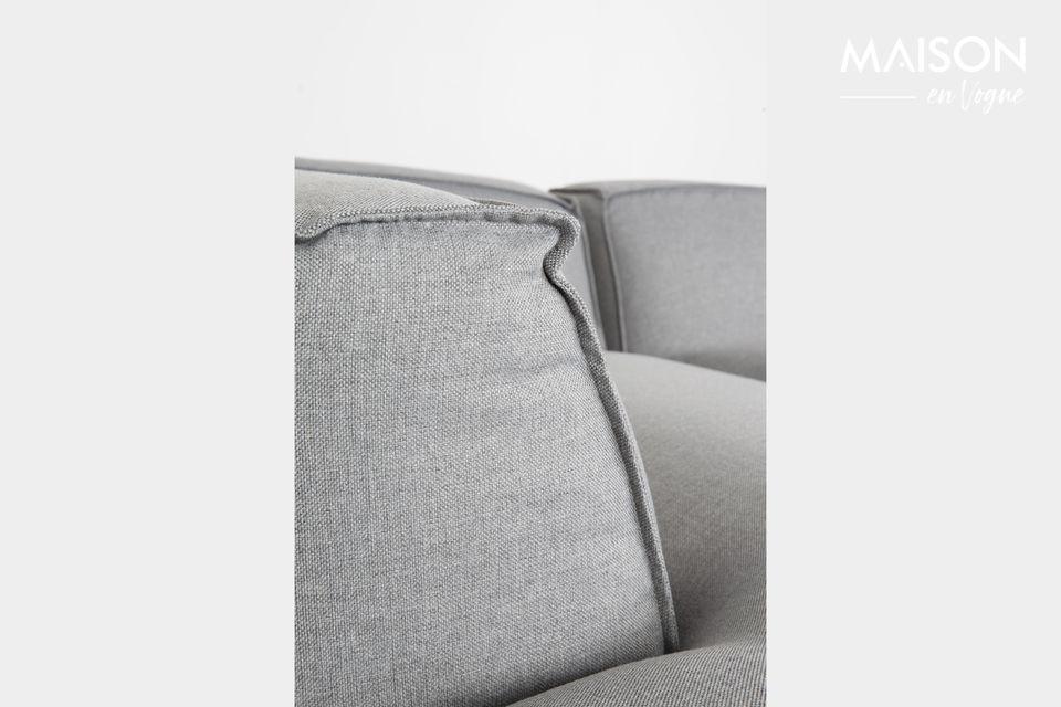 Deze hoekbank combineert onvergelijkbaar comfort en modernisme