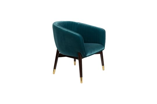 Lounge chair Dolly Blue Productfoto